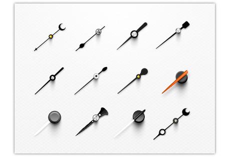 Стрелки для часов в PSD