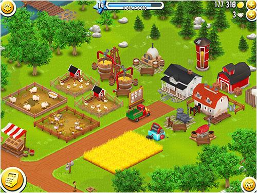 Быстрый способ разбогатеть в Hay Day