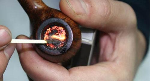 Переходим на курительную трубку