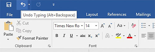 alt-backspace