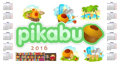 Календарь Пикабу 2016