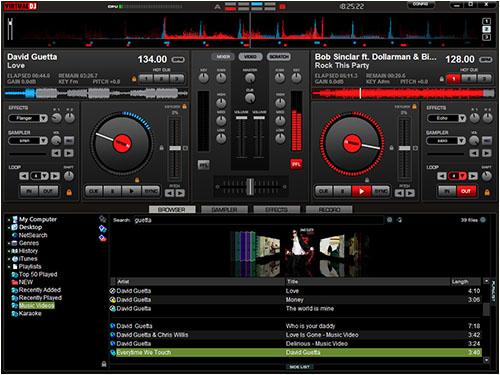 Маленький размер, огромный функционал — Virtual DJ