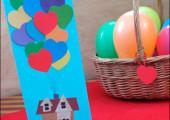 Открытка «Связка воздушных шариков»