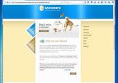 Шаблон для сайта про кошек