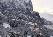 В снега на крымские юга