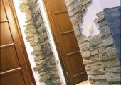 Искусственный камень – отделка в современном стиле