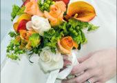 Слайд шоу из свадебных фотографий