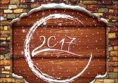 Надписи 2017 для календарей