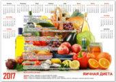 Календарь диеты 2017