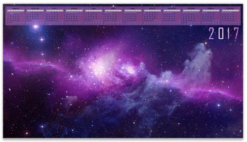 calendar-na-rabochiy-stol-cosmos-2017