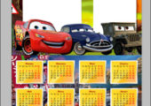 Календарь-рамка Тачки 2017