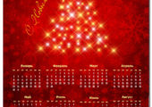 Календарь С Новым Годом 2017