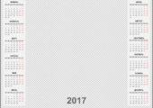 Календари на 2017 год настенные