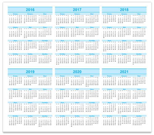 calendar-2016-2021