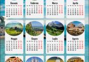 Календарь 2017 на итальянском языке