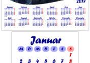 Календарь 2017 на немецком языке