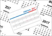 Календарь на февраль 2017