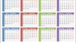 Русско-украинский календарь 2018