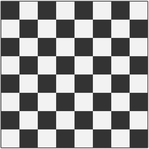 шаблон шахматной доски распечатать