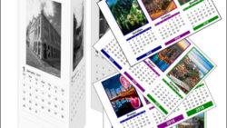 Календарь домик 2018: вертикальный