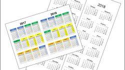 Календарь 2017 2018 для печати