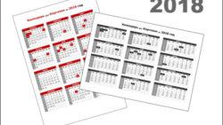 Календарь 2018 для Киргизии с праздниками