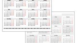 Календарь 2018: версия для печати