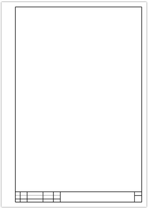 Рамки для листов формата а4 скачать