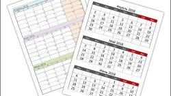 Календарь на 2 квартал 2018 года: скачать и распечатать