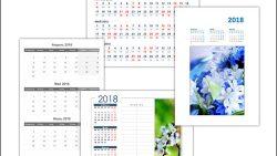 Календарь на апрель, май, июнь 2018: скачать и распечатать