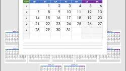 Календарь на 2019 год: каждый месяц на отдельном листе А4