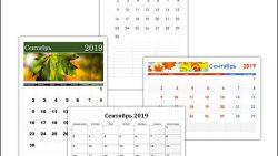 Календарь на сентябрь 2019: скачать и распечатать