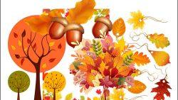 Шаблоны осень: скачать и распечатать