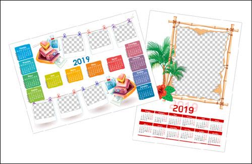 Рамки-календари 2019
