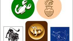 Знаки зодиака: скачать наборы картинок