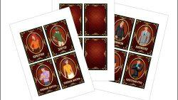 Карточки для мафии: скачать и распечатать