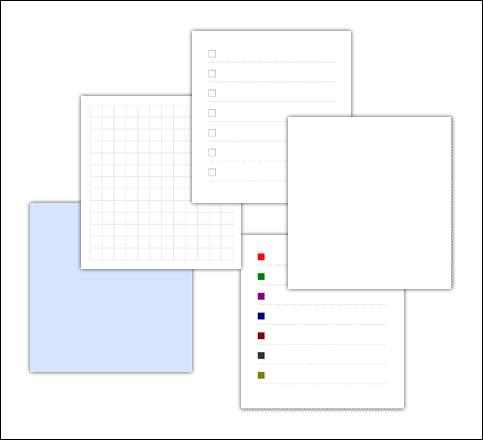Листочки для заметок: скачать и распечатать