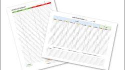 Таблица семейного бюджета на месяц: скачать и распечатать