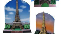 Эйфелева башня из бумаги: скачать, распечатать, вырезать и склеить