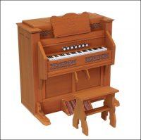 Пианино из бумаги: распечатать и склеить