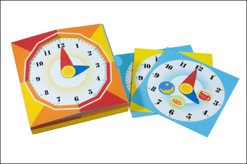 Часы из бумаги: скачать и распечатать шаблон