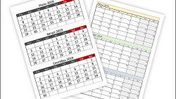 Календарь на 3 квартал 2019 года: скачать и распечатать