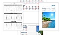 Календарь на август, сентябрь, октябрь 2019: скачать и распечатать