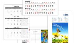 Календарь на июнь, июль, август 2020: скачать и распечатать