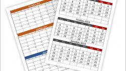 Календарь на 4 квартал 2019 года: скачать и распечатать