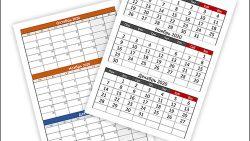 Календарь на 4 квартал 2020 года: скачать и распечатать