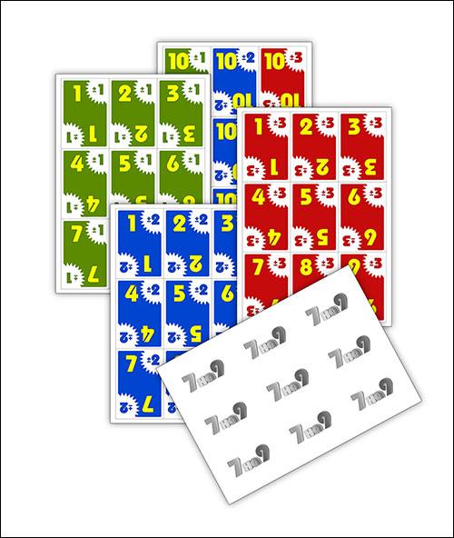 Игра 7 на 9: скачать и распечатать карточки