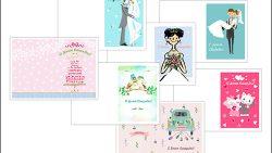Открытка с днем свадьбы: скачать и распечатать