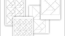 Танграм: скачать и распечатать шаблон на А4