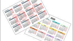 Календарь 2020 формата А3